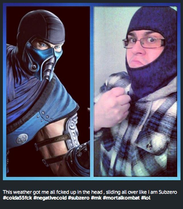 Icy Weather Has Everyone Making The Same Mortal Kombat Joke