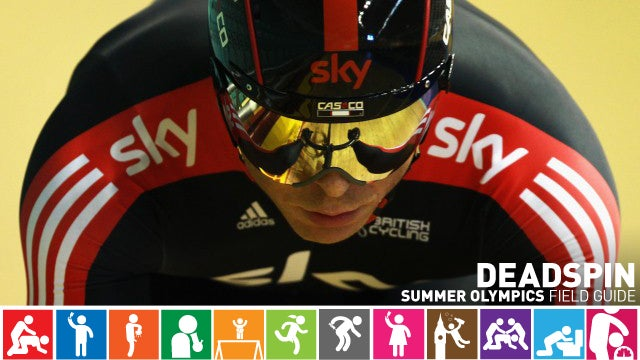 Olympics Field Guide: Chris Hoy, The Incredible Hulk Of Track Cycling