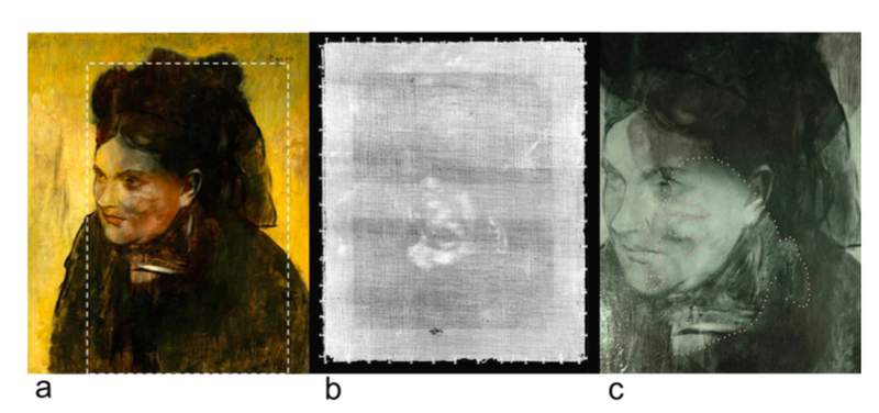 X-Ray of Degas Painting Reveals a Mysterious Secret Portrait