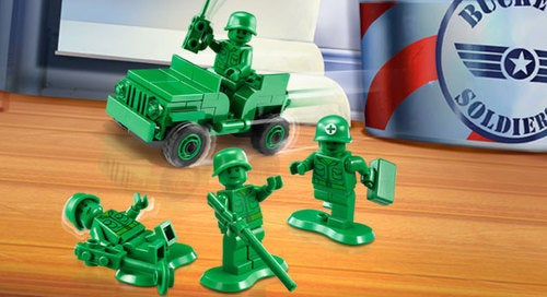 LEGO Toy Story Army Men Are a Surgical Strike of Nostalgia