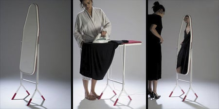 Mirror/Ironing Board concept