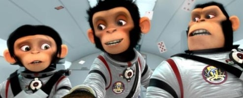 Space Chimps Monkeying Around Isn't Entertaining