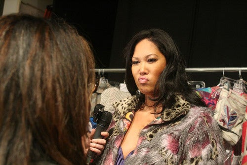 The Many Ridiculous Faces Of Kimora Lee Simmons