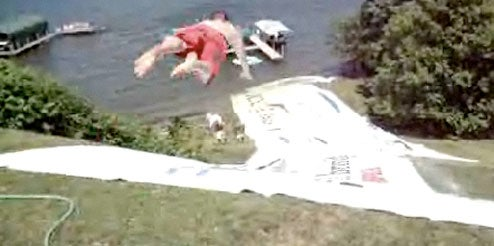 This Giant Slip 'N Slide Looks Way More Fun Than Work