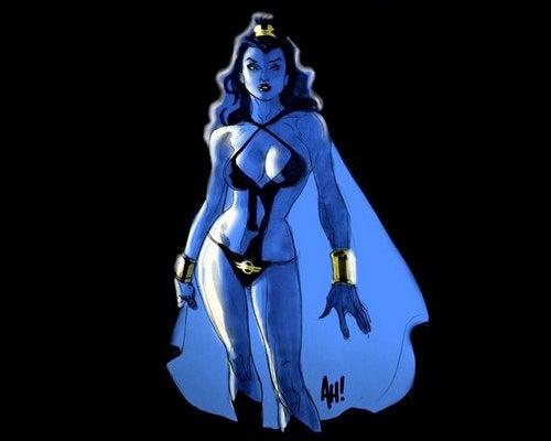 Sexy Blue Women