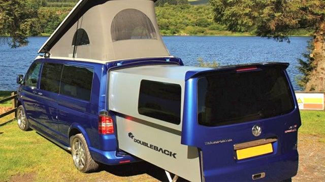 Extending Camper Vans Give the Modern Hippy Plenty Of Leg Room