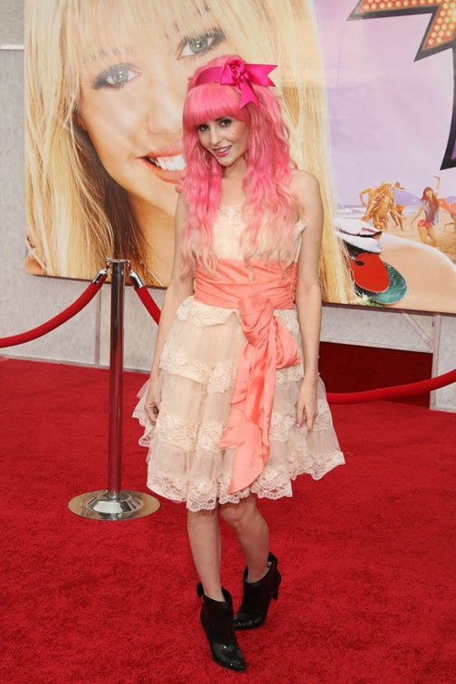 The Horror! The Horror! At Hannah Montana Premiere