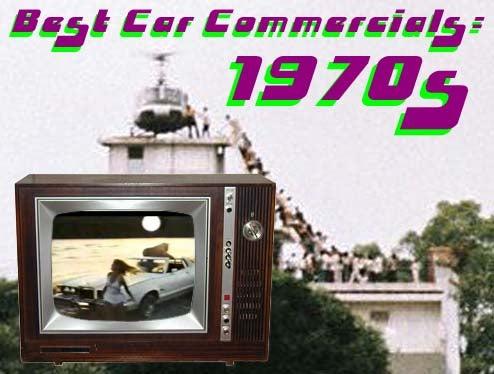 Top Ten Best Car Ads Of The 1970s