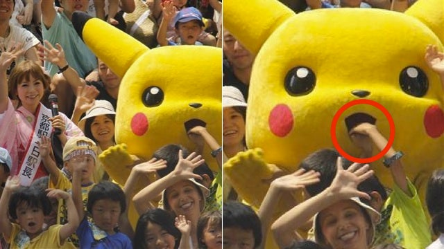 Kids, Stop Sticking Your Fists in Pikachu's Mouth