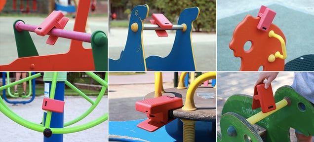 Turn Playgrounds Into Game Controllers With This Motion-Sensing Clip