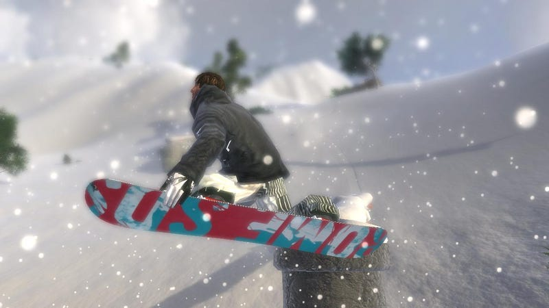 Another Snowboarding Title Enters the Fray