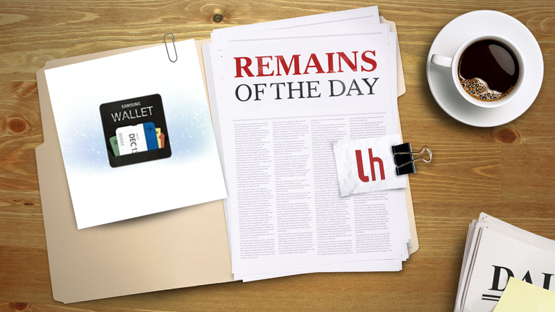 Remains of the Day: Samsung Wallet Will Bring Passbook-Like Features to Samsung Phones