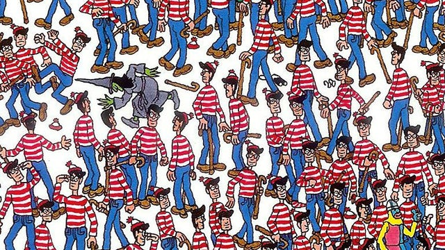 The secret trick to finding Waldo faster than anyone else*