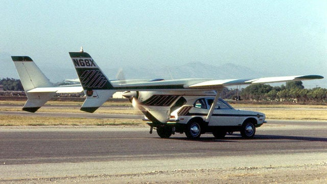 The Ten Craziest Failed Flying Cars