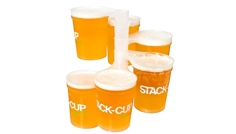 Stackable Pint Glasses Will Make You an Oktoberfest Superhero