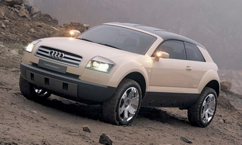 Over the Back Fence: Audi Q1 SUV?