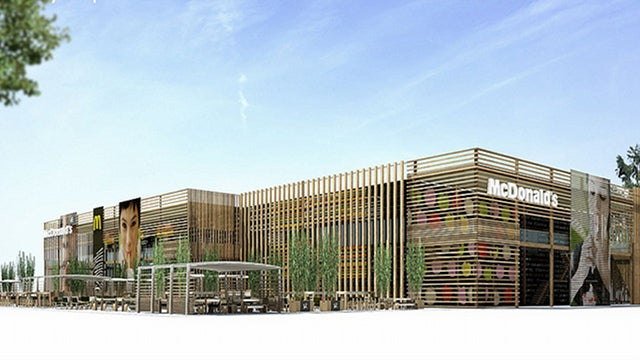 London Olympics Will Have World's Largest McDonald's