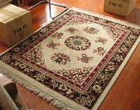 Use a Salt Wash to Revitalize an Old Rug