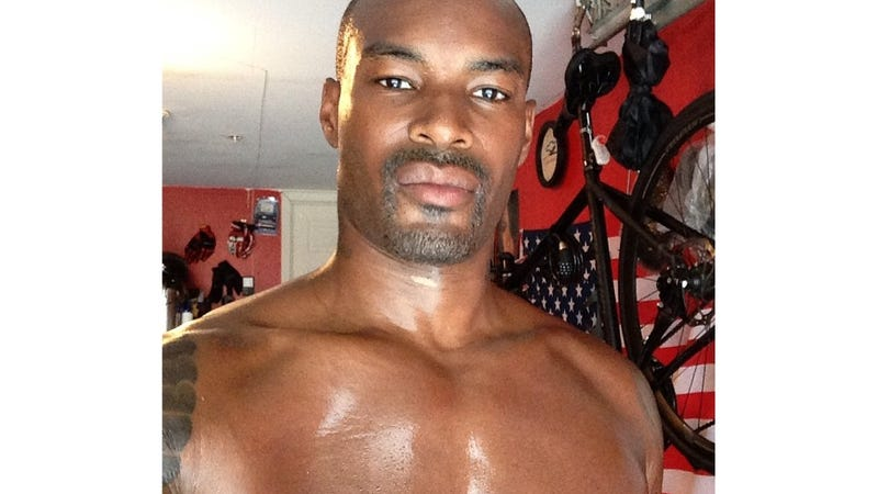 This is Tyson Beckford in 100 Degree Weather