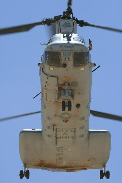 Rock Out With Your CH-46E Out