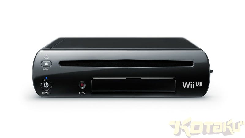 Get a Good Look at the New Black Wii U