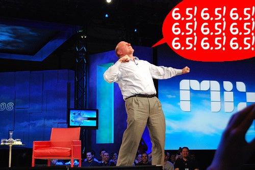 Steve Ballmer Confirms Windows Mobile 6.5