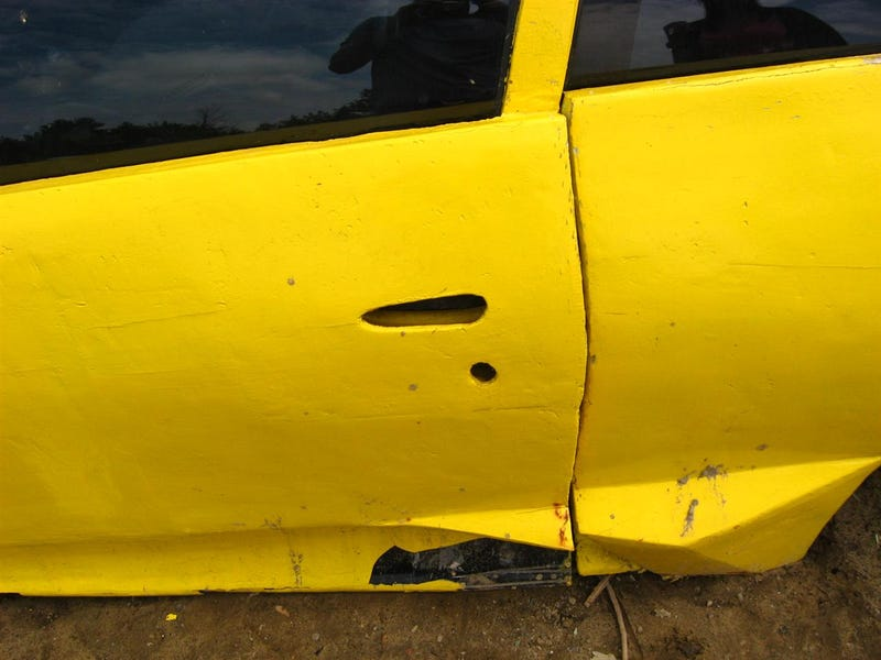 Pontiac Sunfire-Based Fake Lamborghini Ends Up In Junkyard