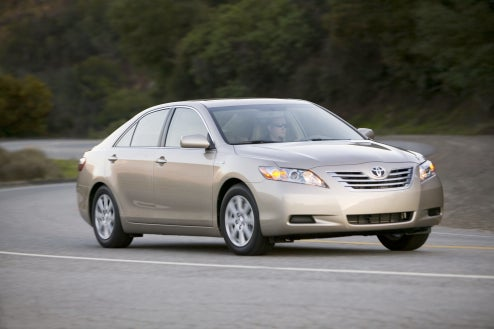CNG-Powered Toyota Camry Hybrid Coming To LA Auto Show