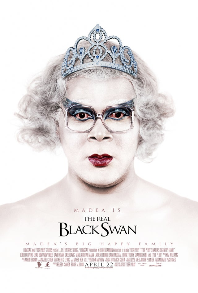 Tyler Perry Claims Madea Is The Real Black Swan