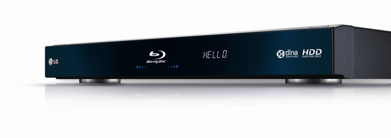 LG BD590 Is the First Blu-ray Player With an Integrated Hard Drive