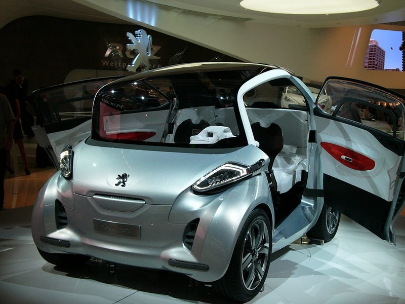 Peugeot BB1 Concept: Live Photos