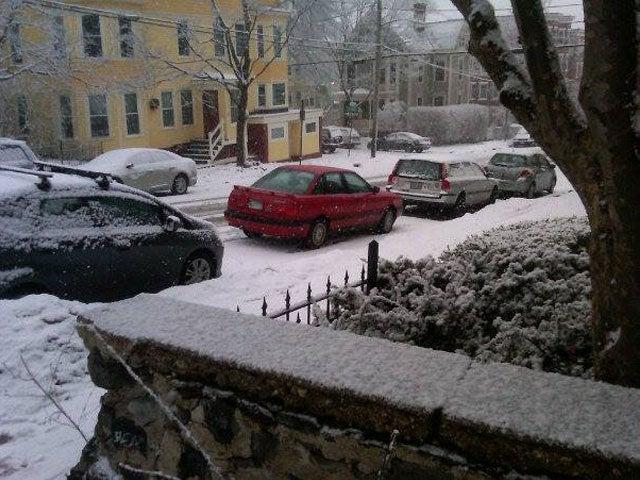 Dear snow...
