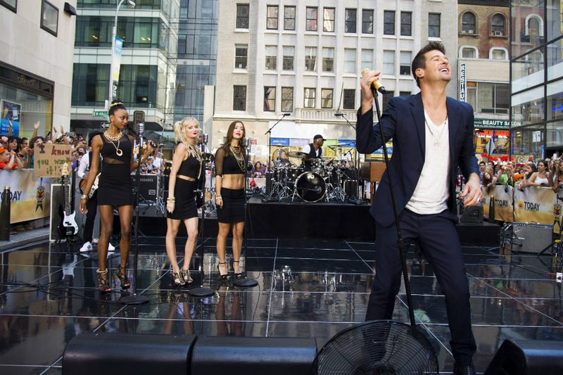 """""""Blurred Lines"""" Songwriters Preemptively Sue Marvin Gaye's Family"""