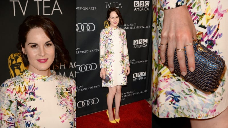 Lady Mary Is Lady Marvelous in Splendid Color