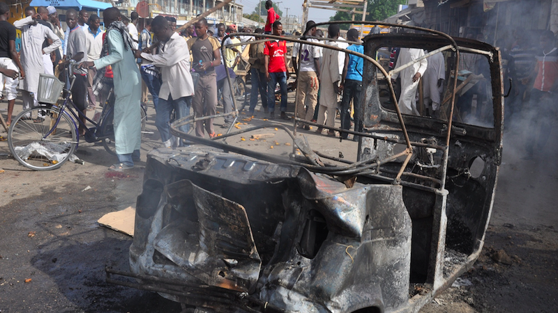 56 Reportedly Killed by Car Bomb in Nigeria