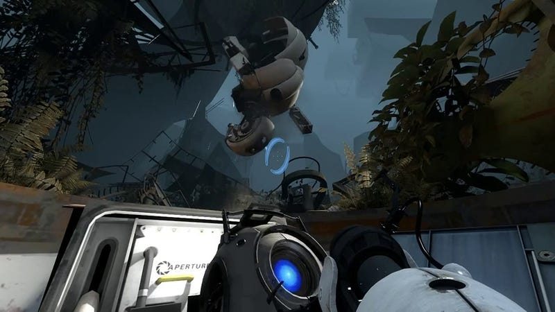 Playing Portal 2 on Oculus Rift is Almost a Religious Experience