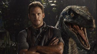 <i>Jurassic World</i> Image Shows Chris Pratt And His Best Friend—A Raptor