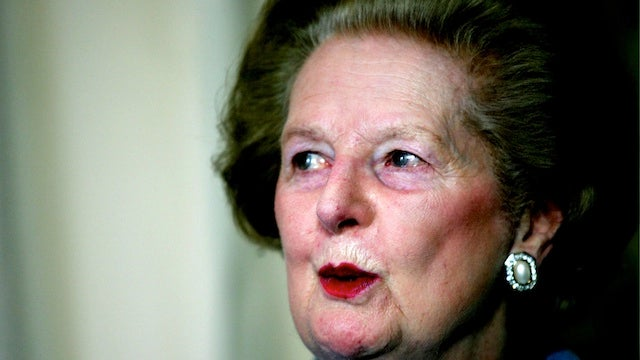 Margaret Thatcher Isn't Dead Yet
