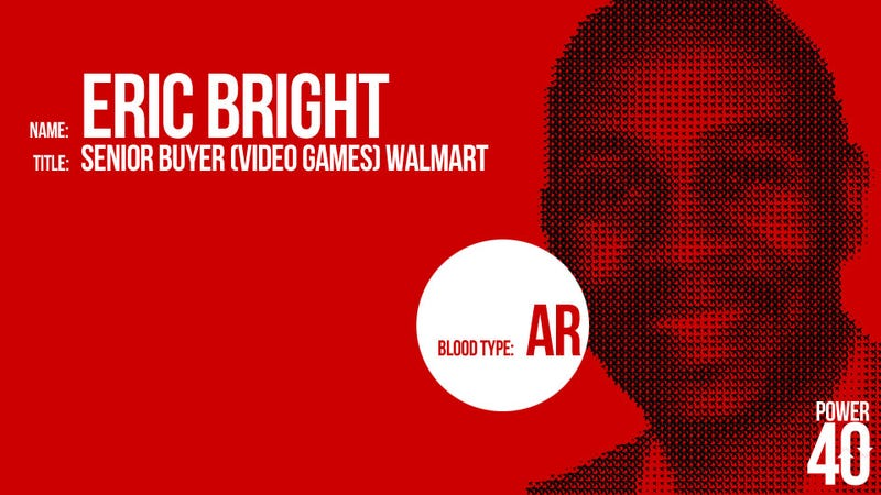 ↑ 09. Eric Bright, Wal-Mart Game-Buyer