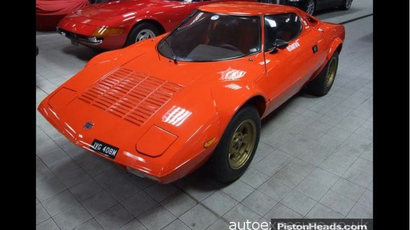 This Incredible Lancia Stratos Prototype Needs A New Home