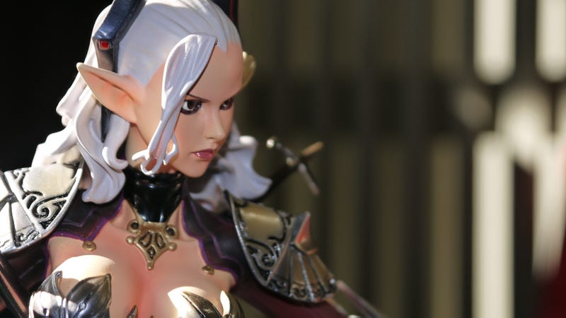 I Assure You This is a Fully Armed and Armored Female Berserker Statue