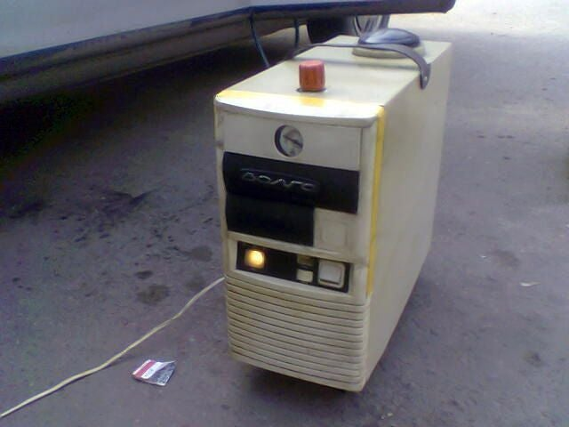 A Gasoline-Powered PC? What the Crap?