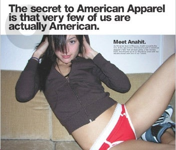 American Apparel 33% Illegal