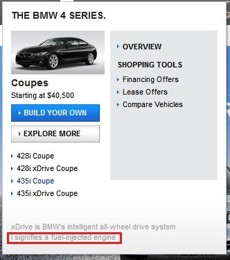 Thanks for clearing that up, BMW!