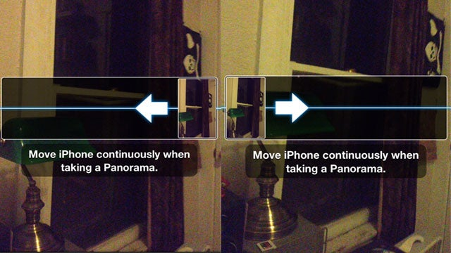 Switch Panorama Direction on iOS 6 with a Tap