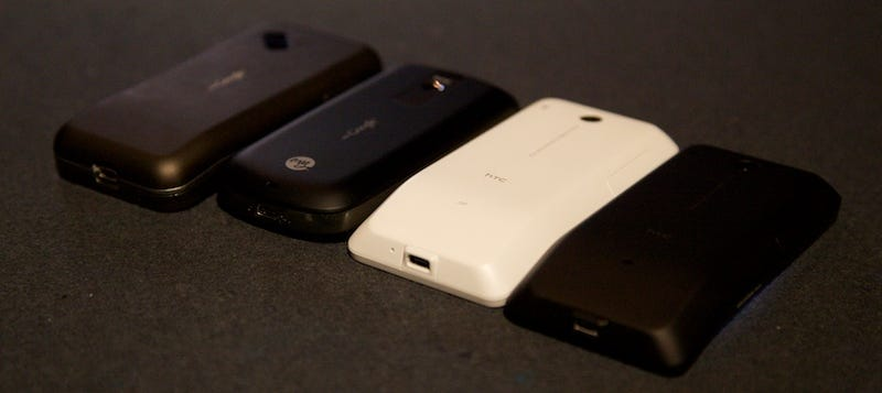 HTC Android Family Portraits: G1, myTouch 3G and Hero
