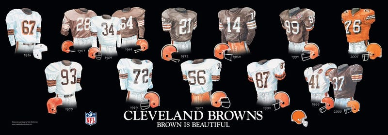 Browns President On New Uniforms: Wait 'Til Next Year