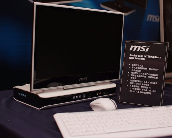 MSI Gets Into Nettop PC Game With All-in-One Wind Neton Range