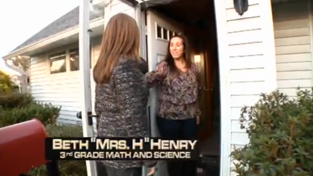 Samantha Bee Takes an MTV Cribs-like Tour of the Average American Teacher's Home