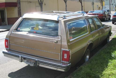 1977 Oldsmobile Custom Cruiser Station Wagon